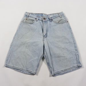 Vintage Levis 560 Orange Tab Denim Jean Shorts 31